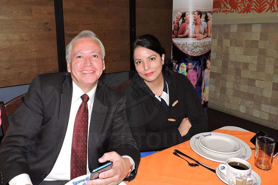 Beatriz Mora y Héctor Gómez
