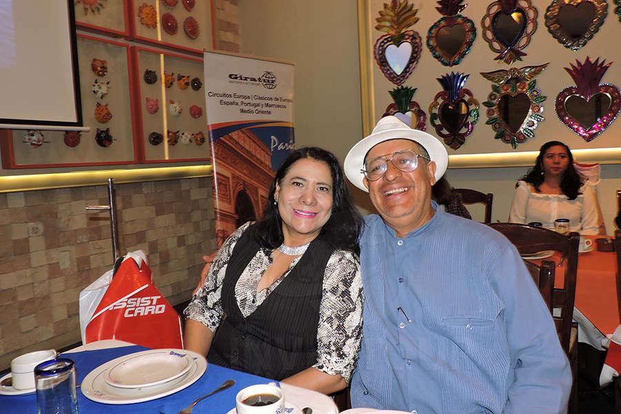 Luz Danery y Ernesto Serrano