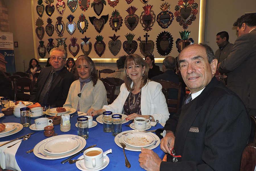 Jesús Rivera, Ana Isabel Badillo y Graciela y Rodolfo Curiel