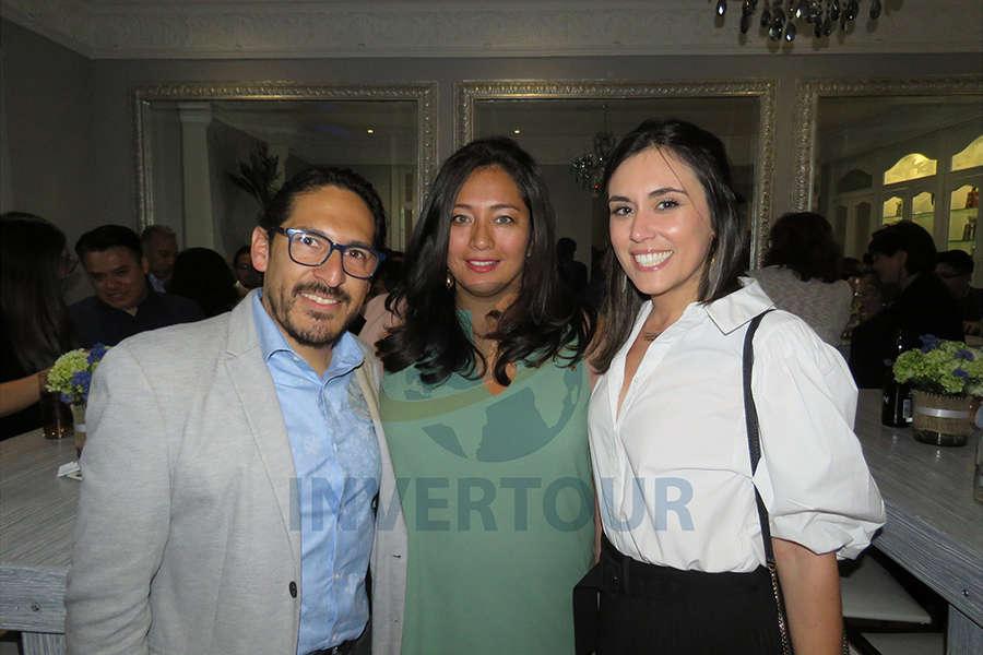 Omar Hernández, Inés Orihuela y Paula Lutz