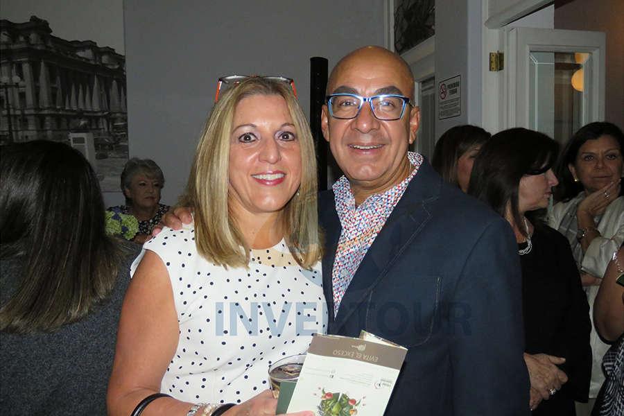 Esther Pujol y Erwin Romero