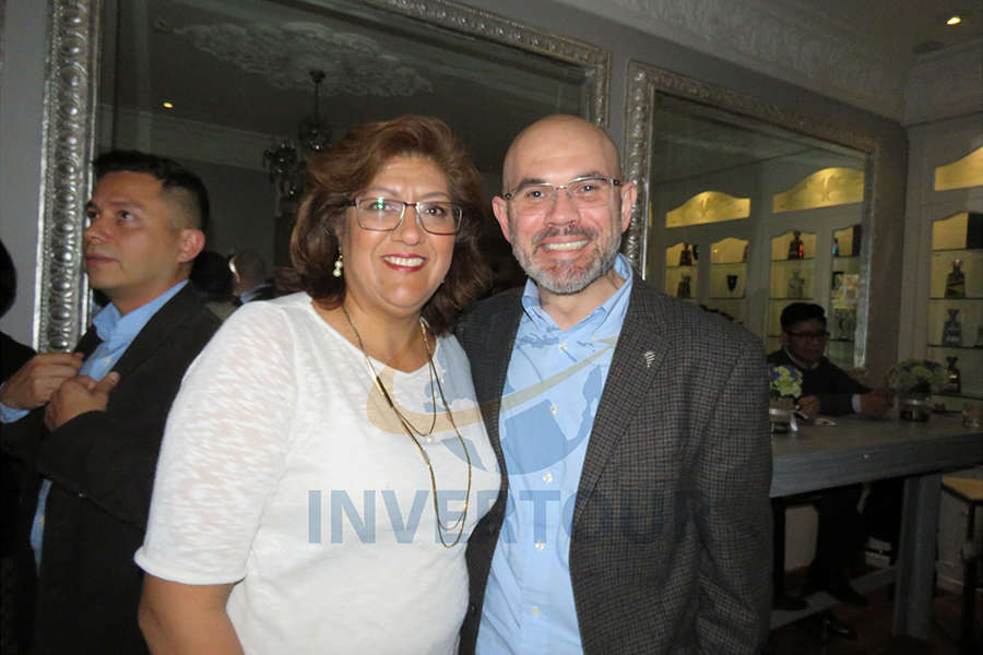 Vicky Jiménez y Francisco Posada