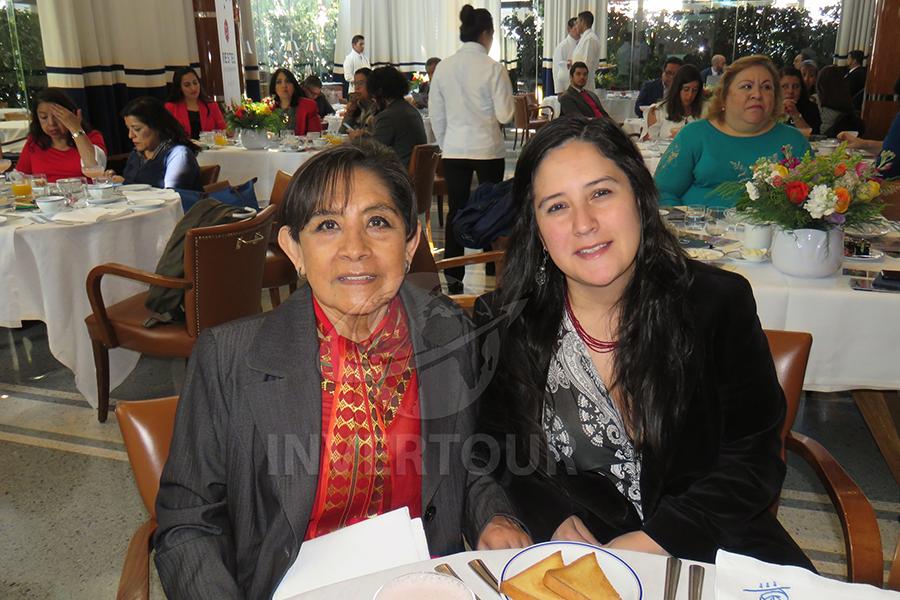 Dina Jiménez y Guillermina Mavil