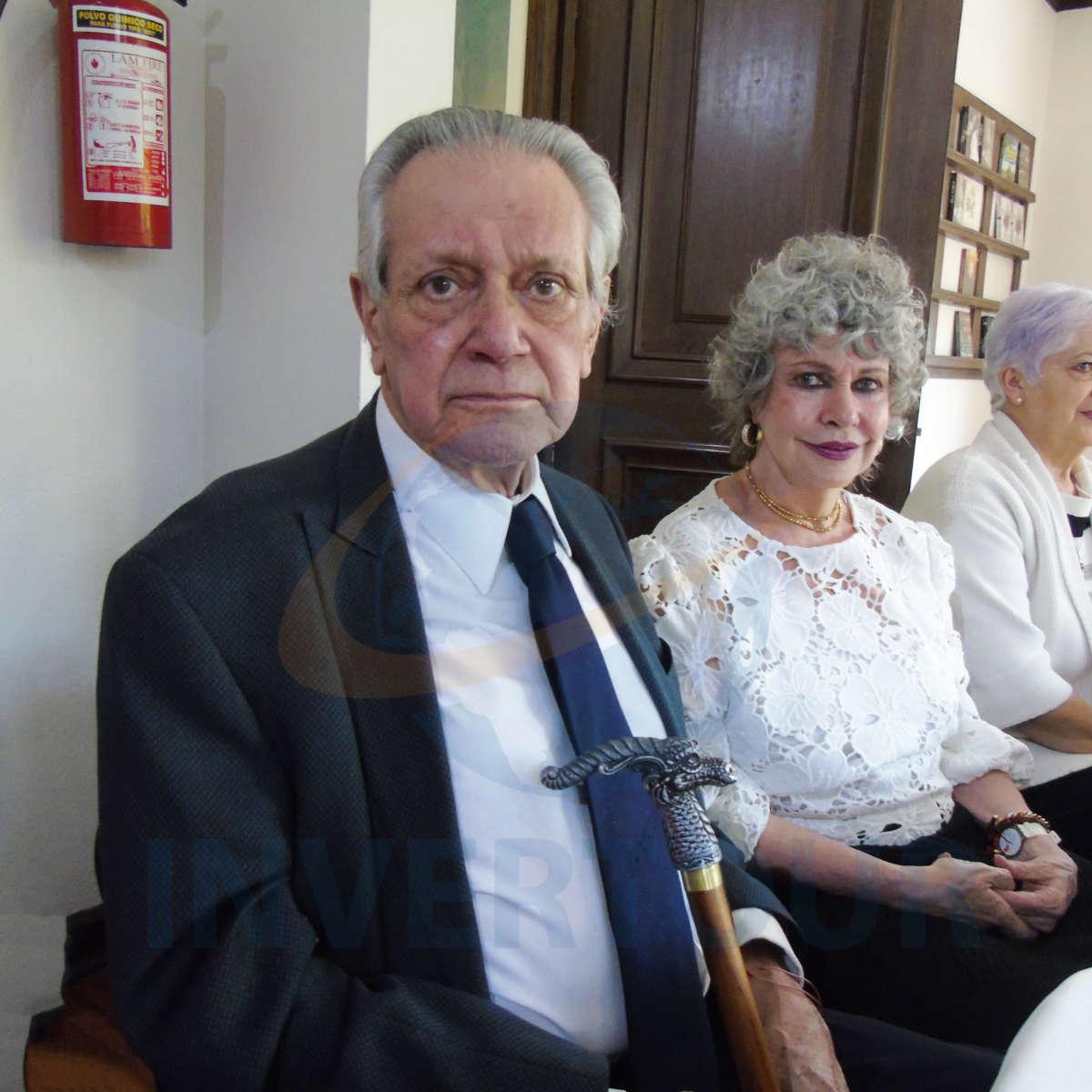 Raúl García-Morineau y Berenice Lozano