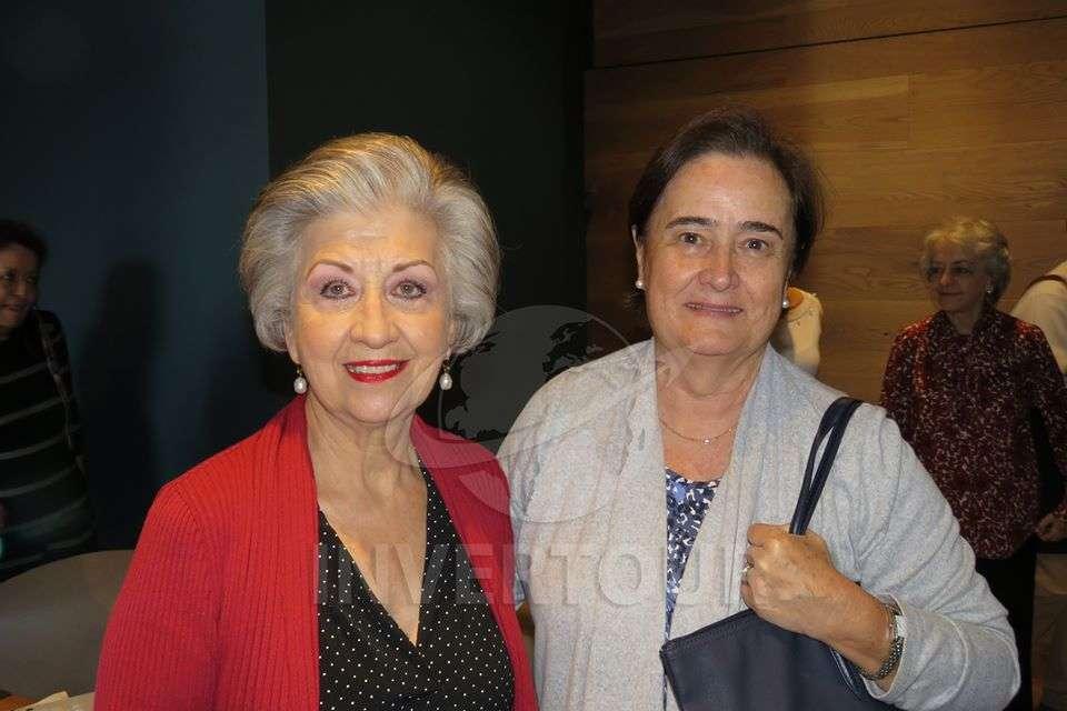 María Luisa Luengas y Begoña Iriondo