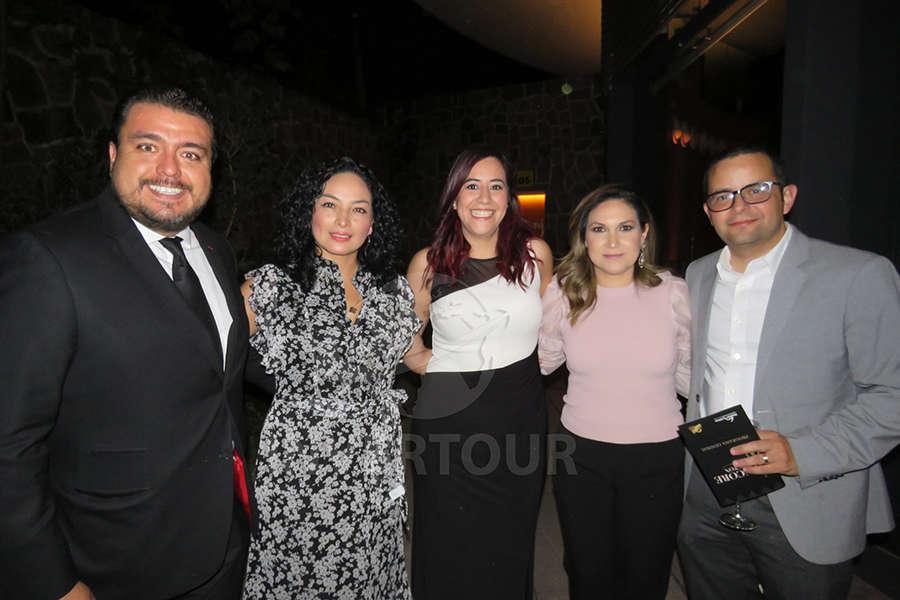 Luis Jiménez, Erika Moreno, Mariana Briseño, Briseida Cantú y Mauricio Bustamante