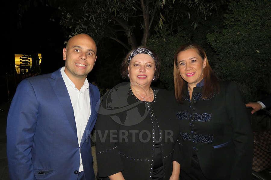 Diego Gayo, Celia Morales y Sylvia Esquivel