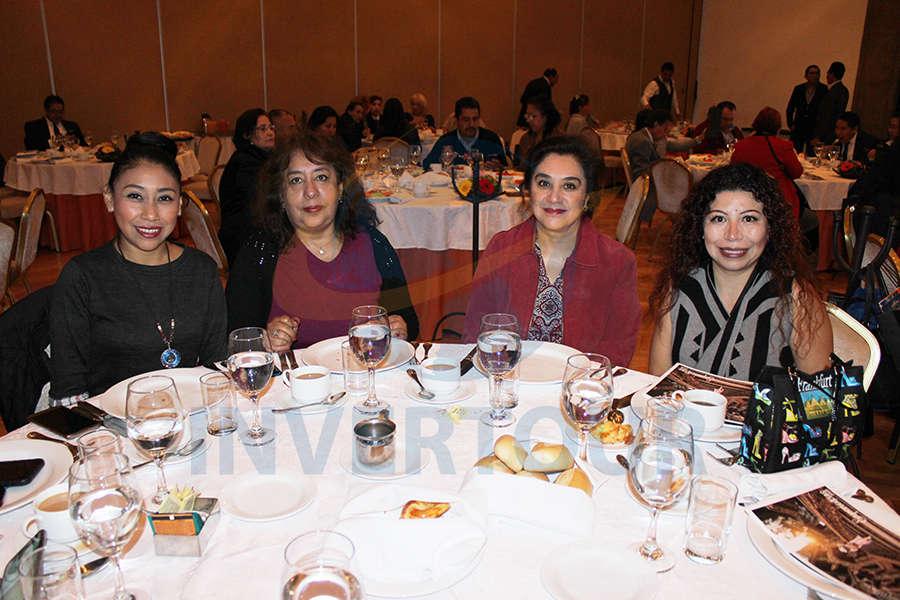Karina Rangel, Isabel Hernández, Evangelina Segura y Jael Cedillo