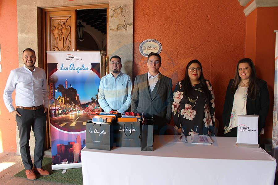 Jorge Martínez, Juan Carlos Fuentes, Christian Magaldi, María López y Aidee Santos