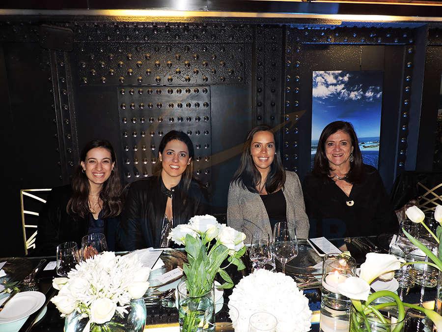 Regina Pérez-Maldonado, Tanya Nasser, Nuri Padros y Patricia Carranza