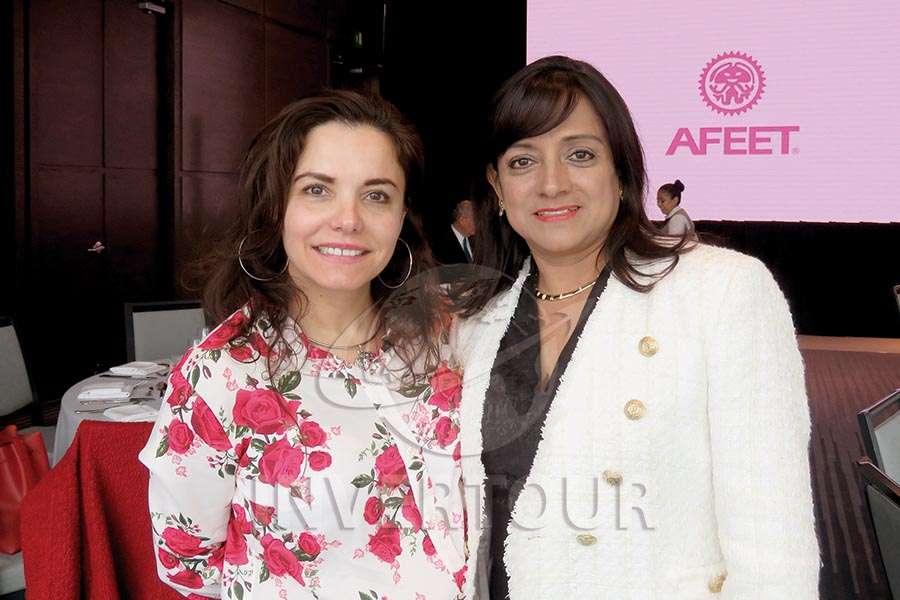 Carla Ponce e Ivette Bistrain