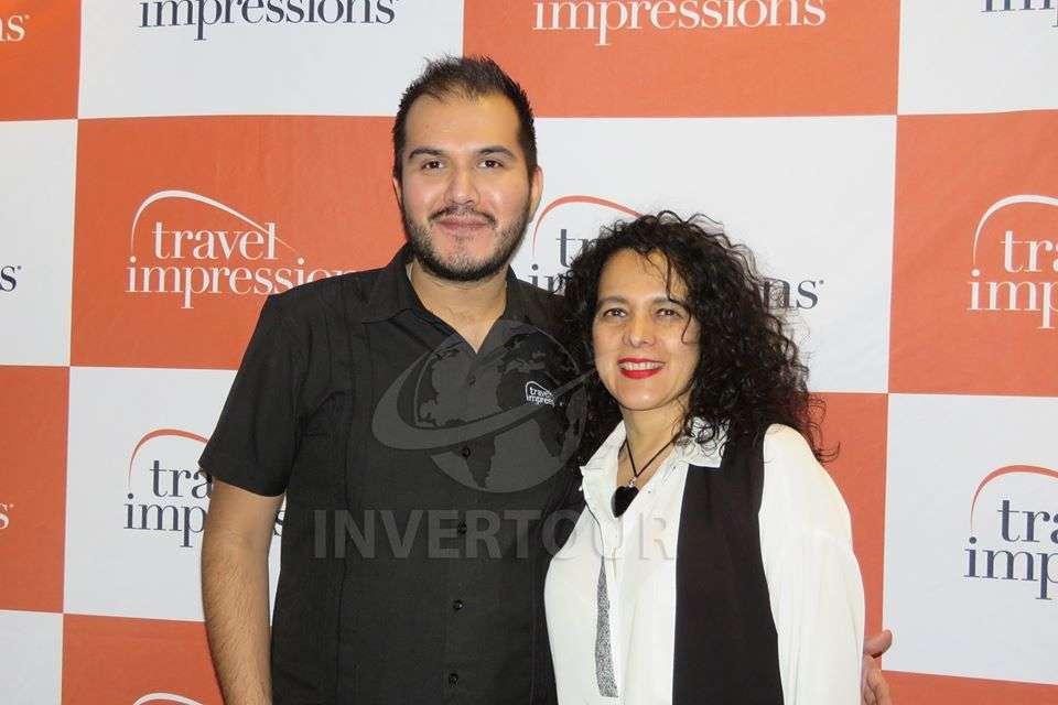 Jorge Martínez y Claudia Flores