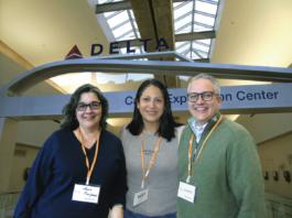 Sarah Kaufman, Livier Bustos y Demetrio Acevedo