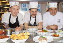 Jirka Horák, Tomáš Valkovič y Rodrigo Flores