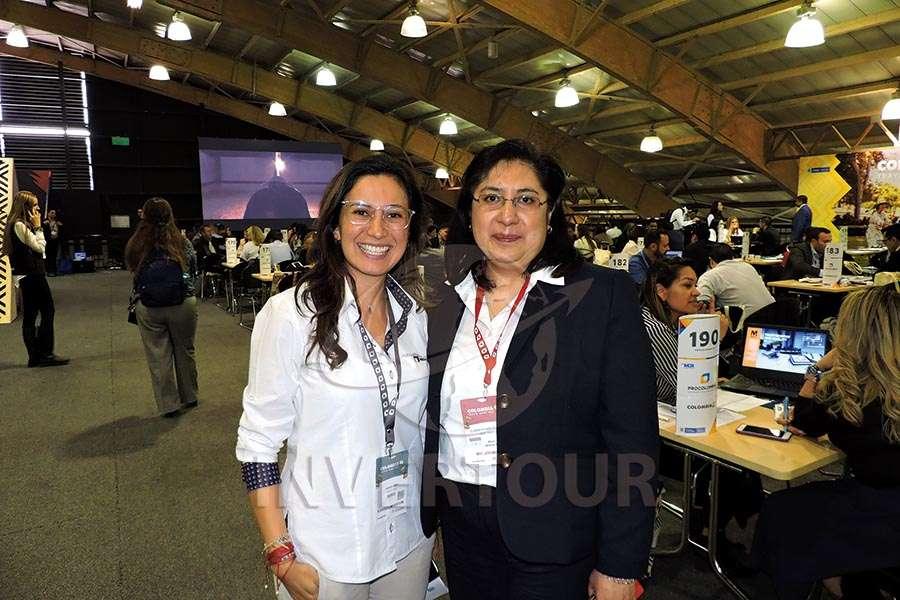 Andrea Daza y Elizabeth Lara