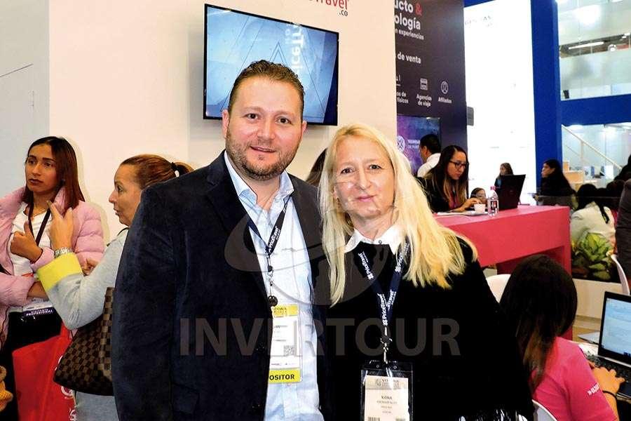Juan Socas e Ilona Andrásfalvy