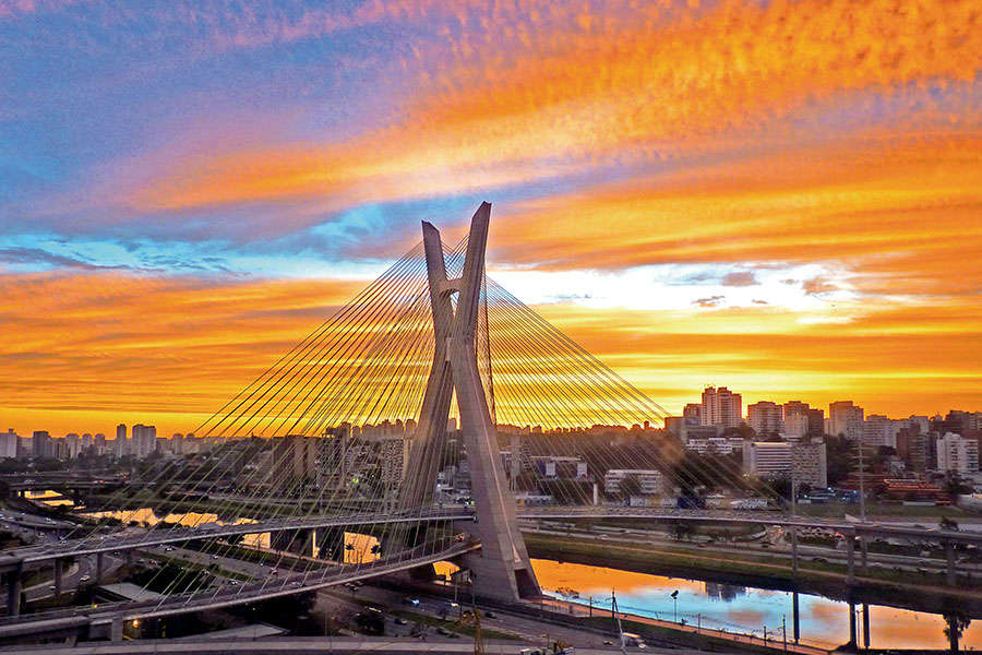 Octávio Frias de Oliveira Bridge - Ponte Estaiada