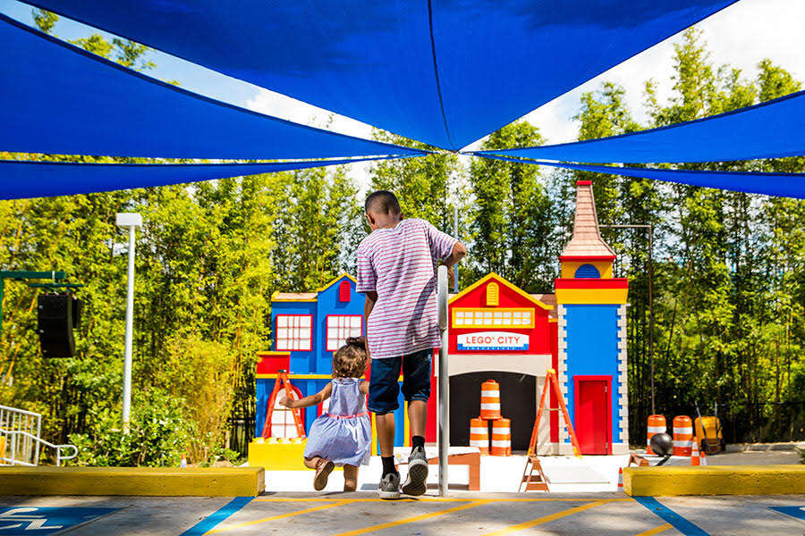 Sunday, June 3, 2018 -- Brick Builders at LEGO City Stage at LEGOLAND Florida Resort. (PHOTO / LOCK + LAND, Chip Litherland)