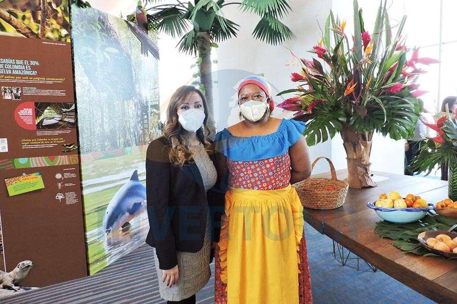 Jenny Zapata y Luz Morales