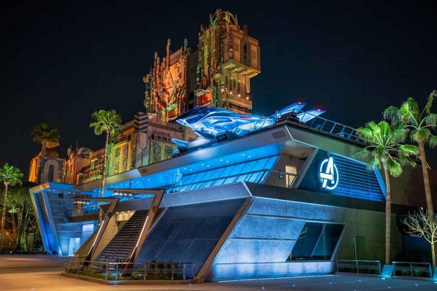 Avengers Campus Disney California Adventure Park