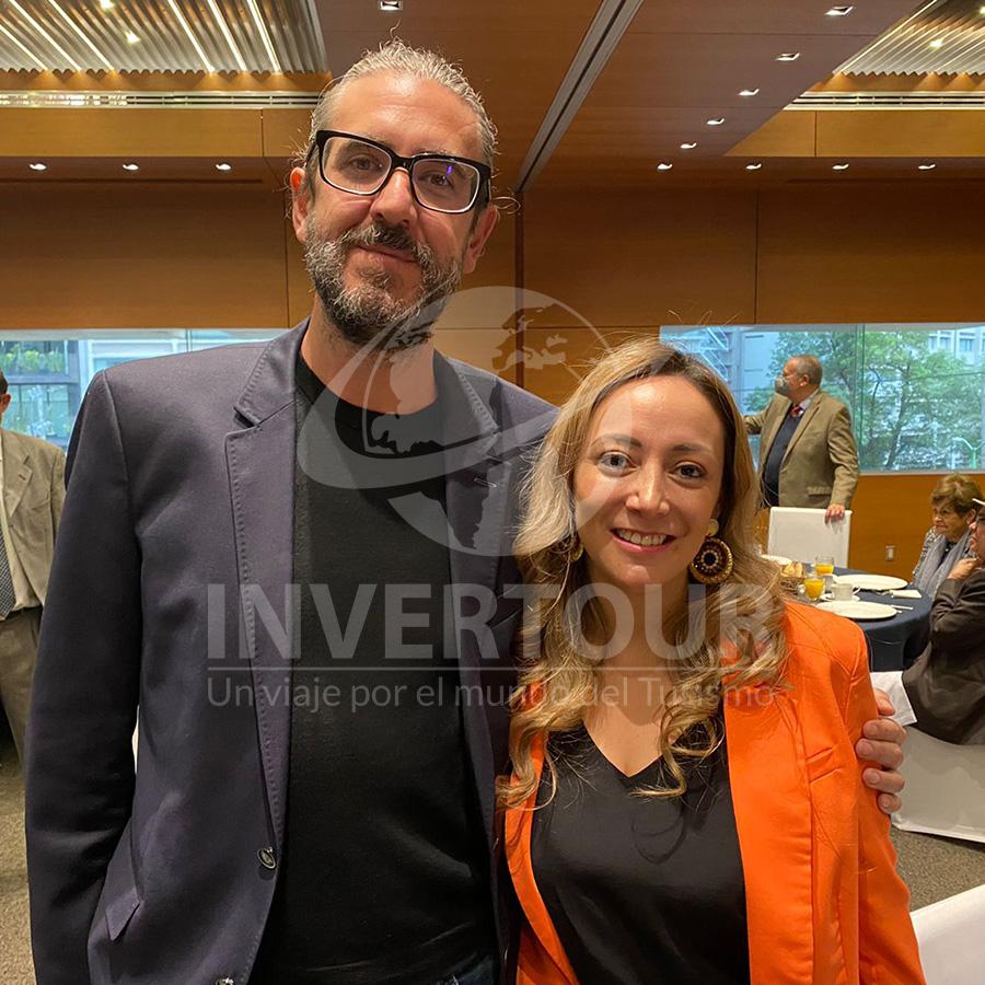 Jordi Llorens y Jenny Zapata