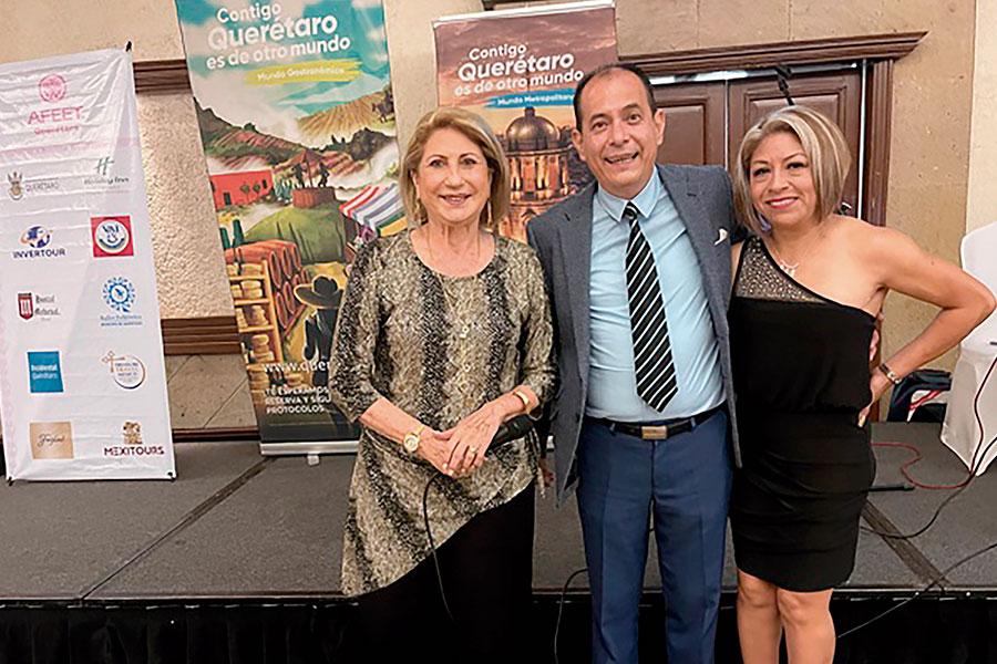 Nora Blaisten, Genaro Feliciano y Ana Rosa Reyes Castro