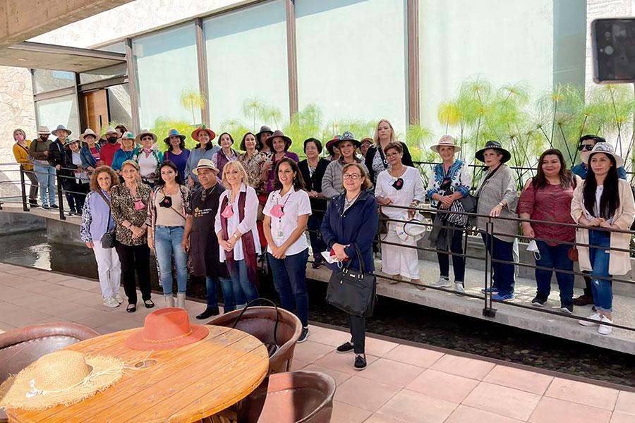 Socias participantes en la Fabrica de Puros