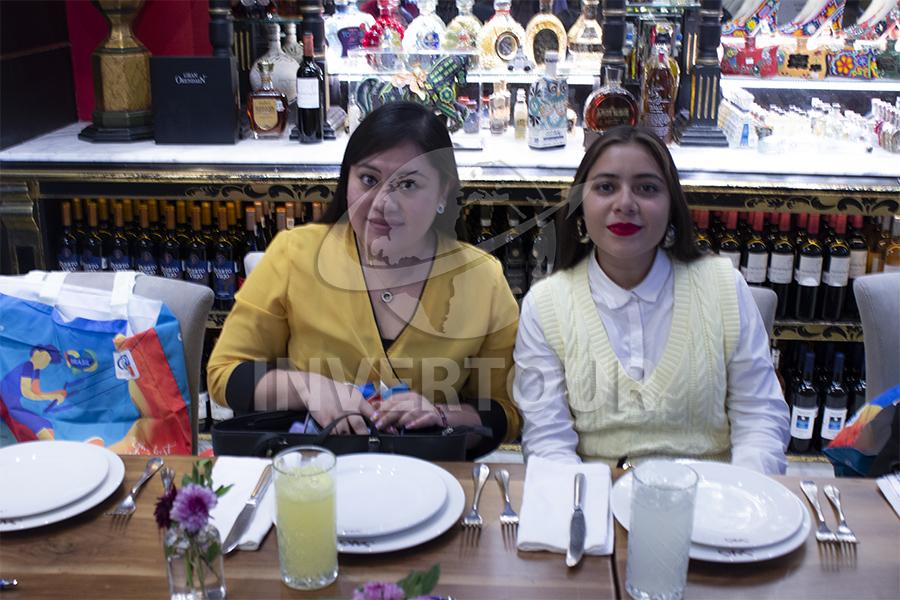 Samara Márquez y Ambar Hernández