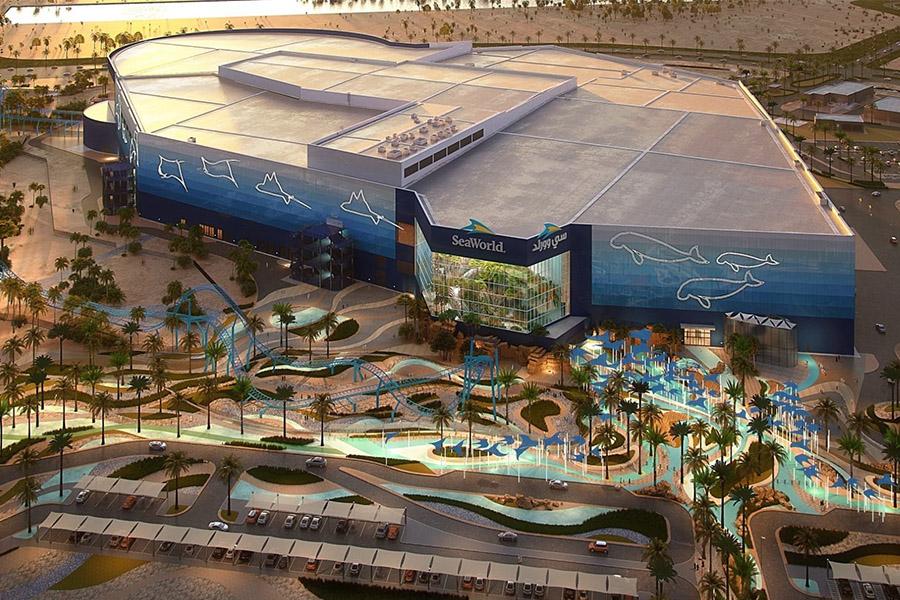 SeaWorld Abu Dhabi External Render
