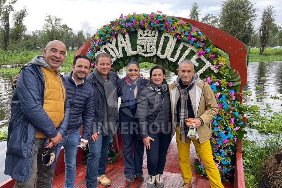 Erwin Romero, Pepus y Roberto Trauwitz, Sandra Escalona, Elena Trauwitz y Jaime Rogel