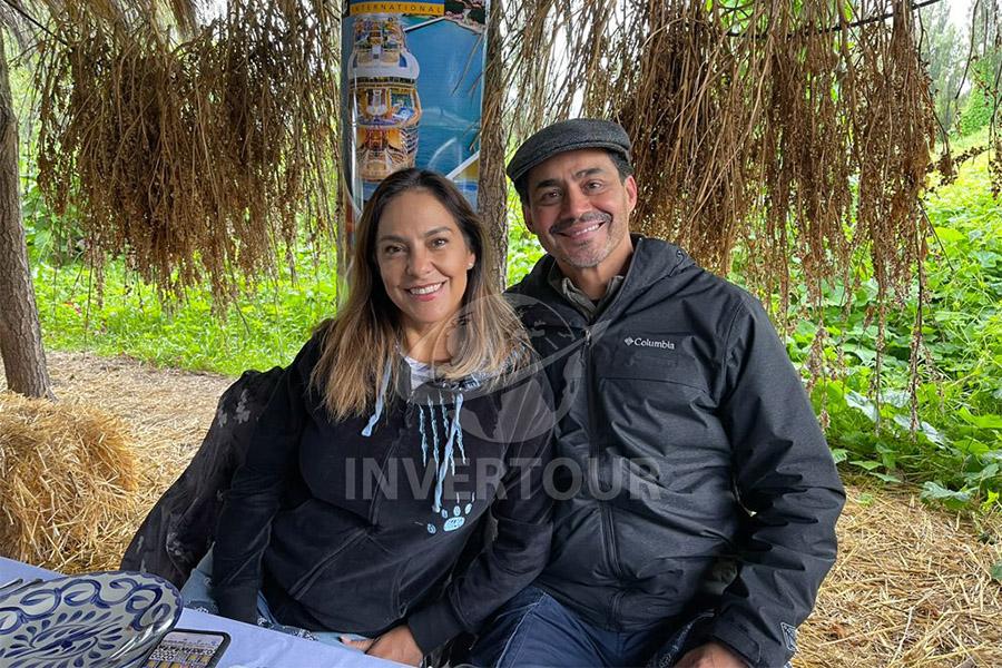 Adriana de la Torre y Benjamín Díaz